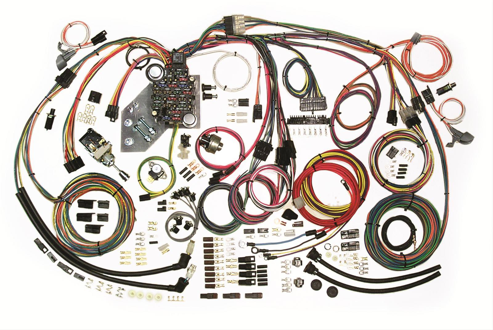 AWW 500467_xl american autowire classic update series wiring harness kits 500467 1948 plymouth wiring harness at gsmx.co