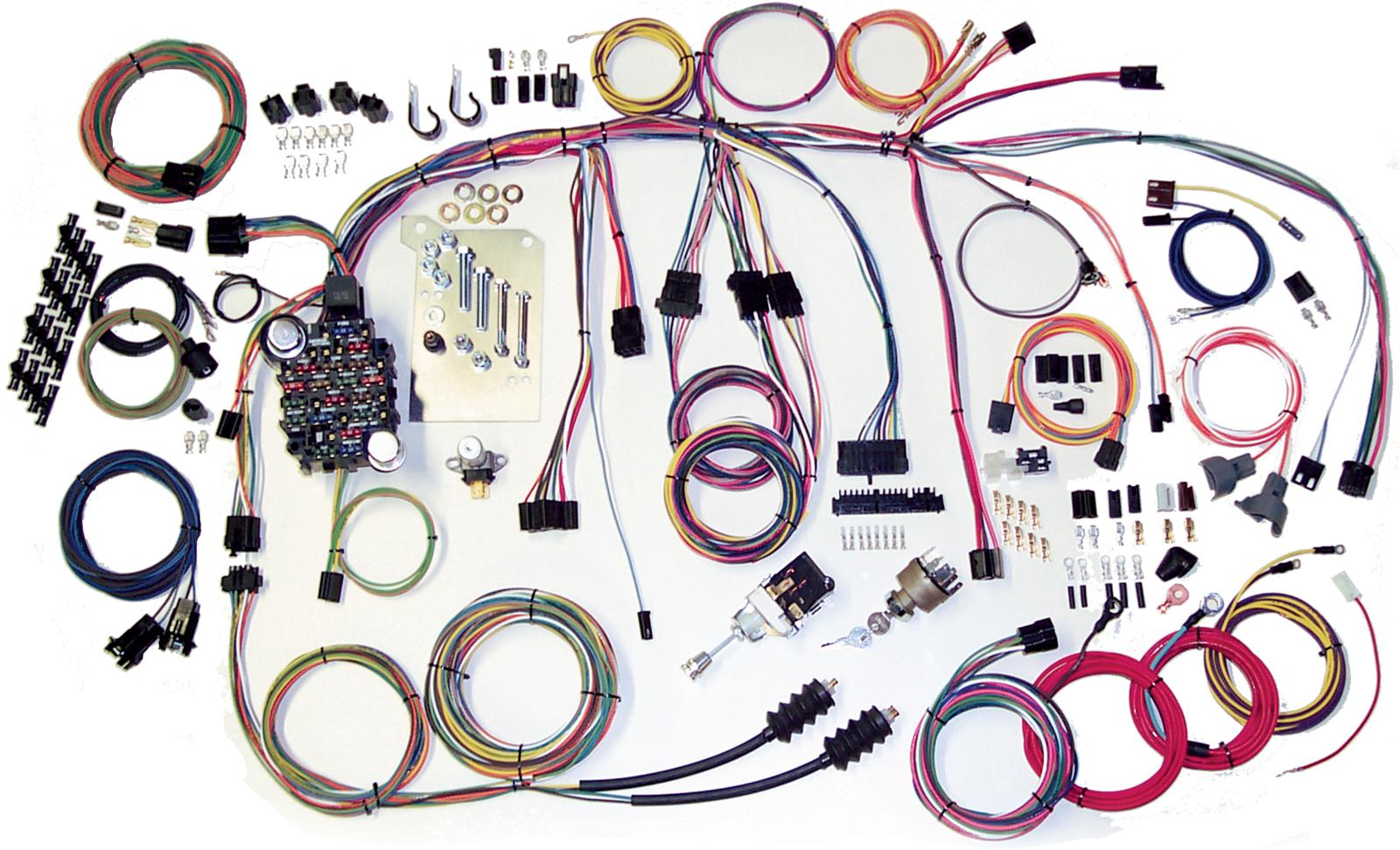 American Autowire 40 American Autowire Classic Update Series Wiring  Harness Kits   Summit Racing