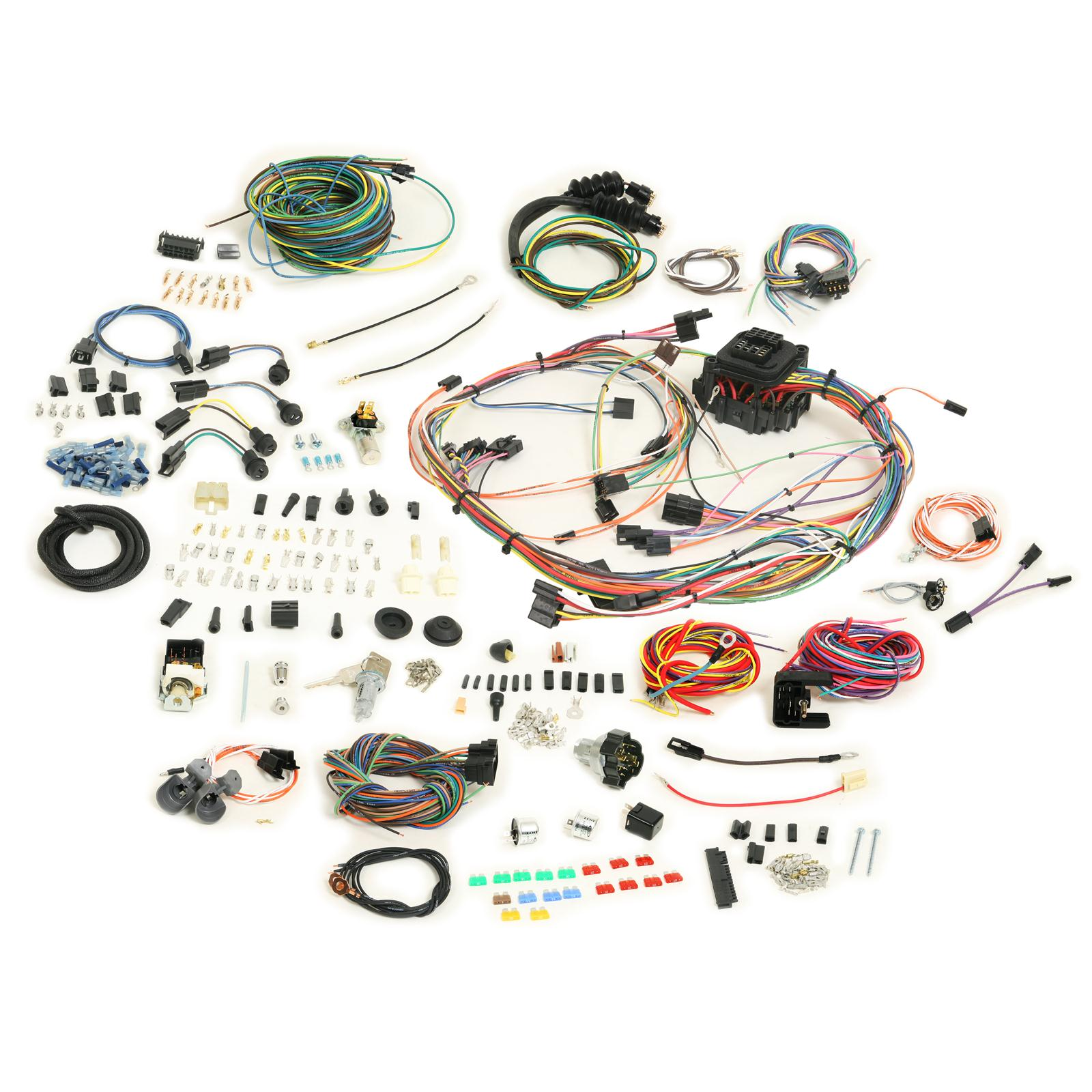 American Autowire Classic Update Series Wiring Harness Kits 510333 Peterbilt Wire Repair Kit Free Shipping On Orders Over 99 At Summit Racing