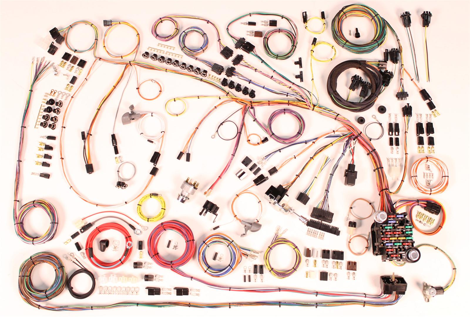 1968 chevrolet camaro american autowire classic update series wiring  harness kits 510360 - free shipping on orders over $99 at summit racing