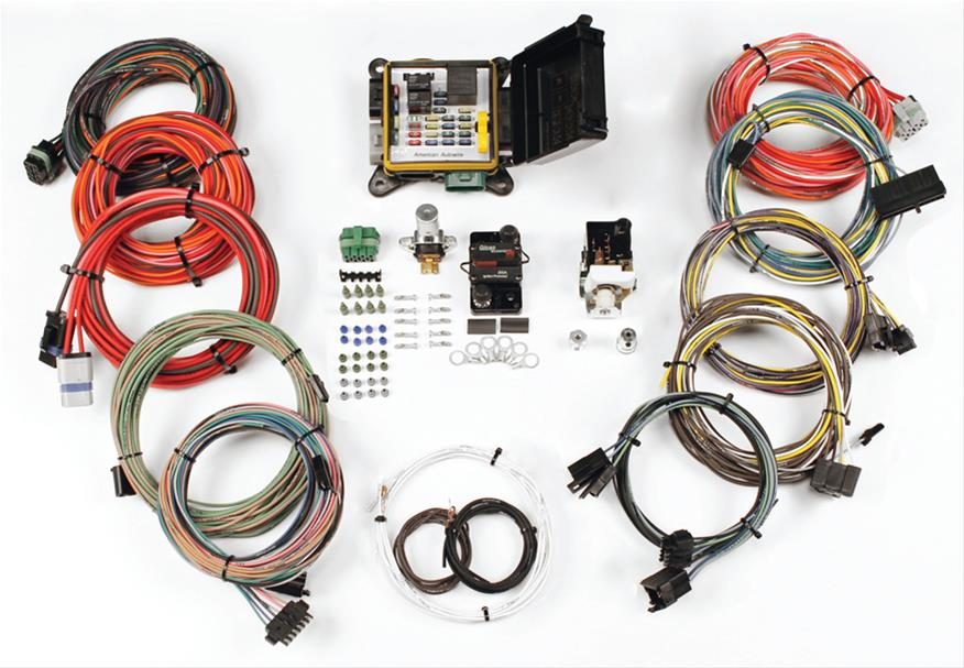 American Autowire Severeduty Universal Wiring Kits 510564 Free