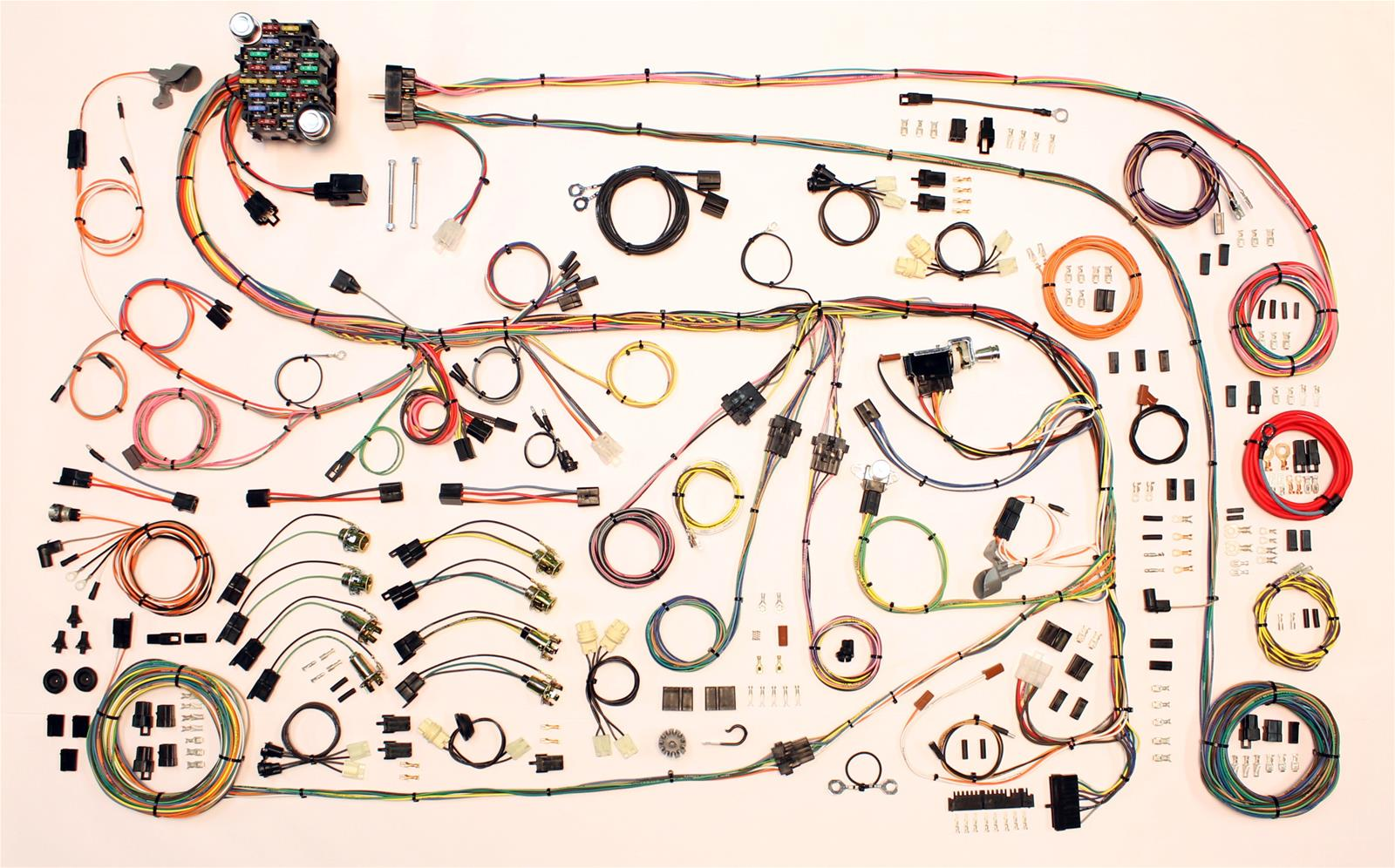american autowire classic update series wiring harness kits 510603 american autowire classic update series wiring harness kits 510603 shipping on orders over 99 at summit racing