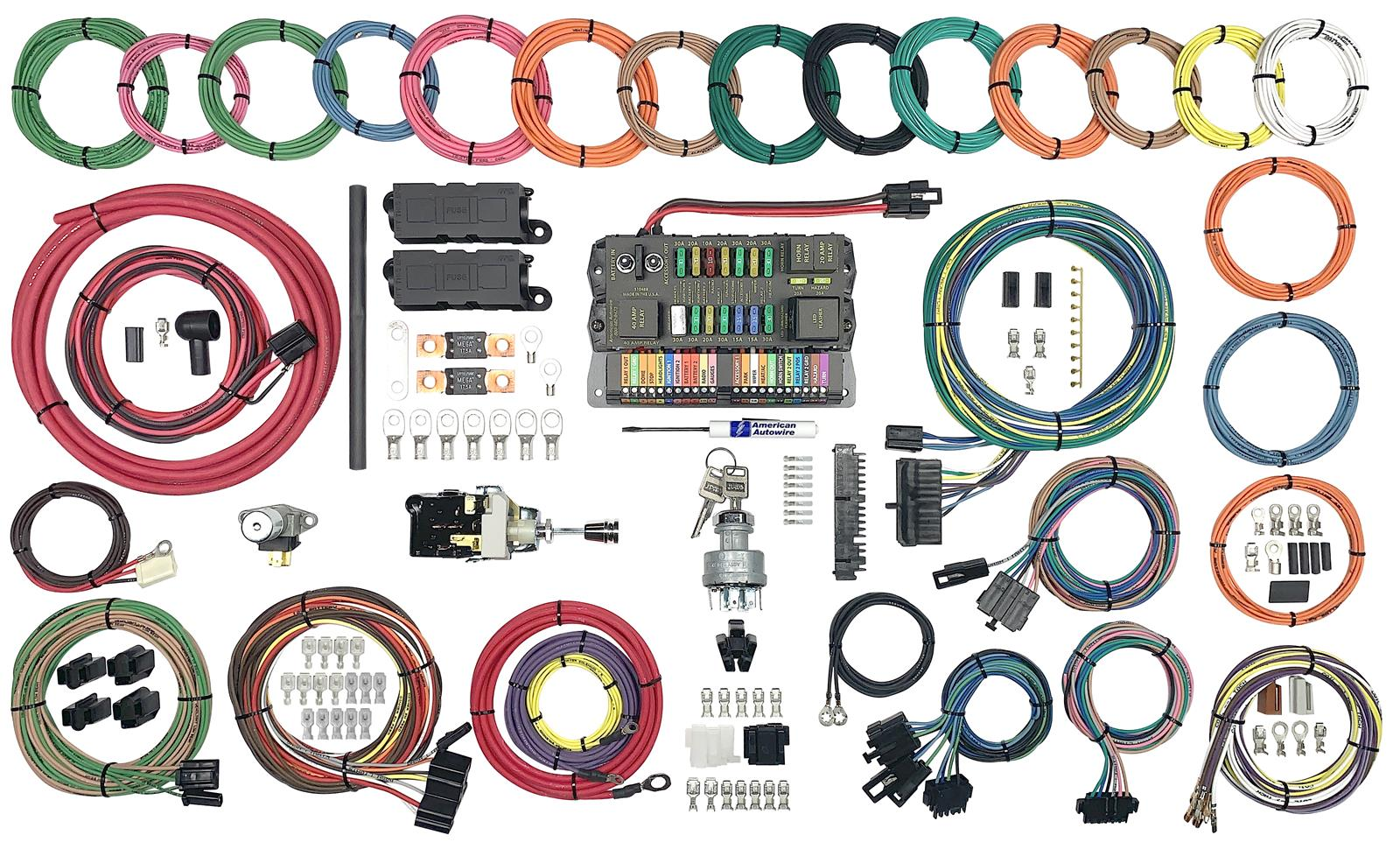 American Autowire Highway 22 Plus Wiring Harness Kits 510760Summit Racing