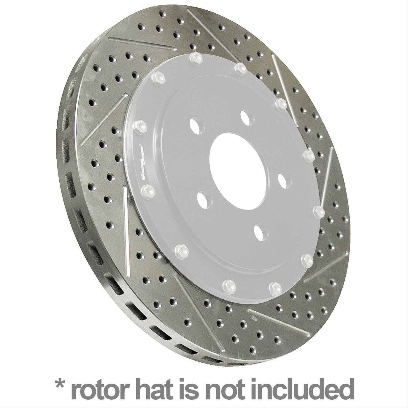 Brake rotor replacement coupons