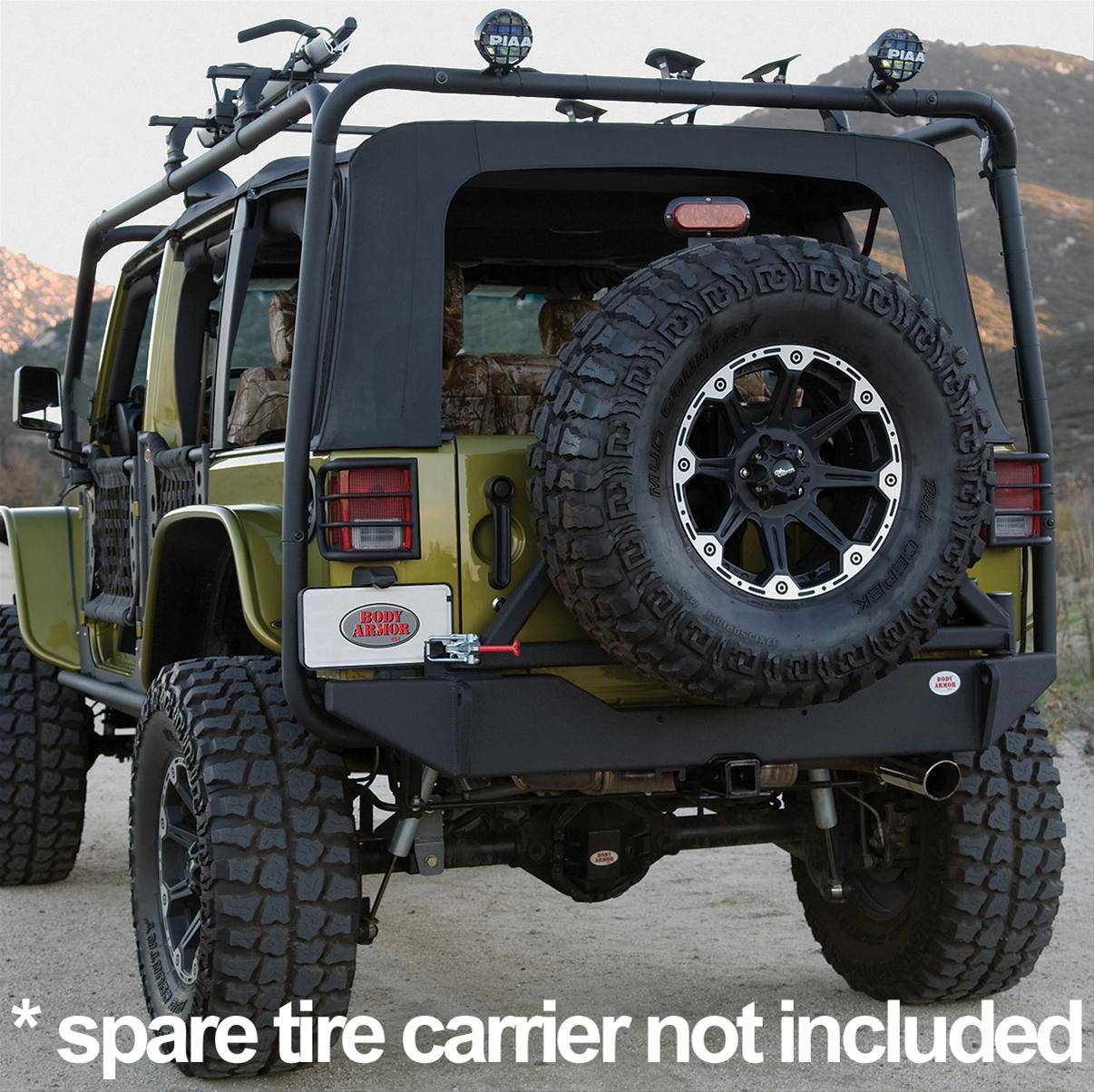 Body Armor 4x4 Rear Bumpers JK-2394 - Free Shipping on Orders Over $99 at  Summit Racing