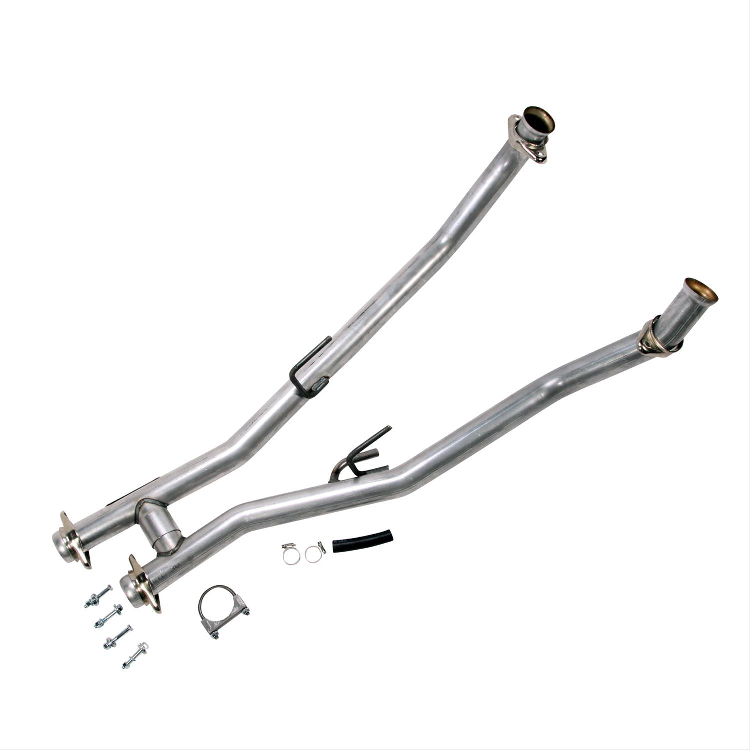 """Summit Racing® H-Pipe 2.5/"""" For Use w// Shorty Headers 640725 Ford Mustang"""