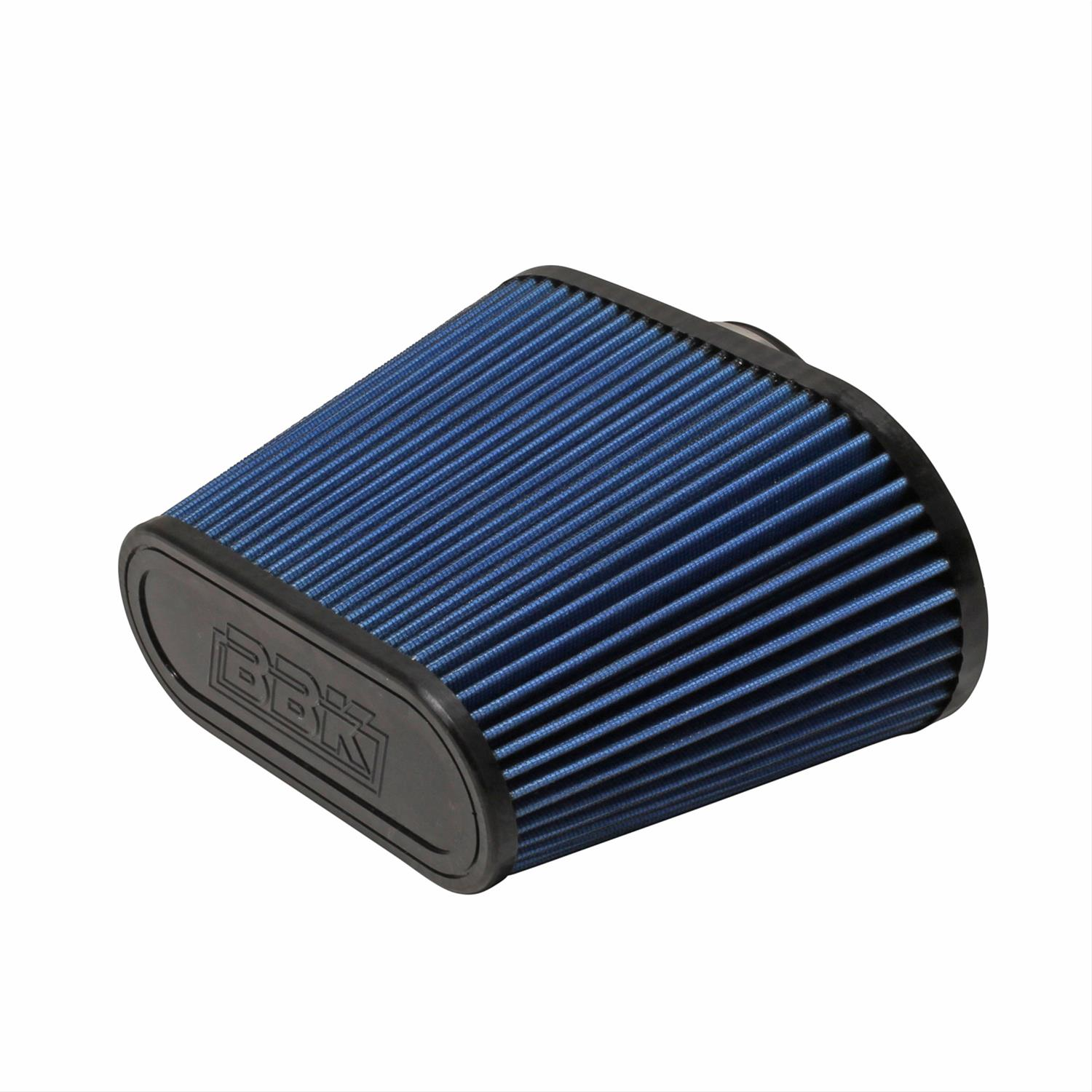 Blue BBK 1742 BBK Cold Air Intake Replacement High Flow Washable Air Filter