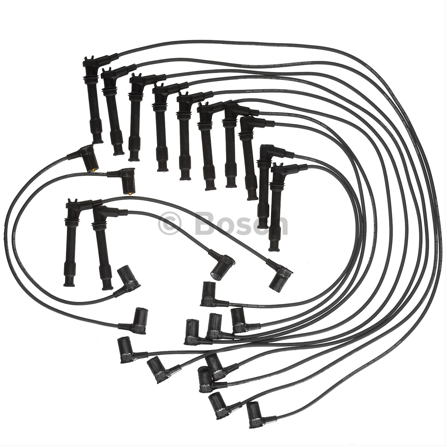 bosch premium spark plug wire sets 09264 free shipping on orders 1999 Ford Van Seat Covers bosch premium spark plug wire sets 09264 free shipping on orders over 99 at summit racing
