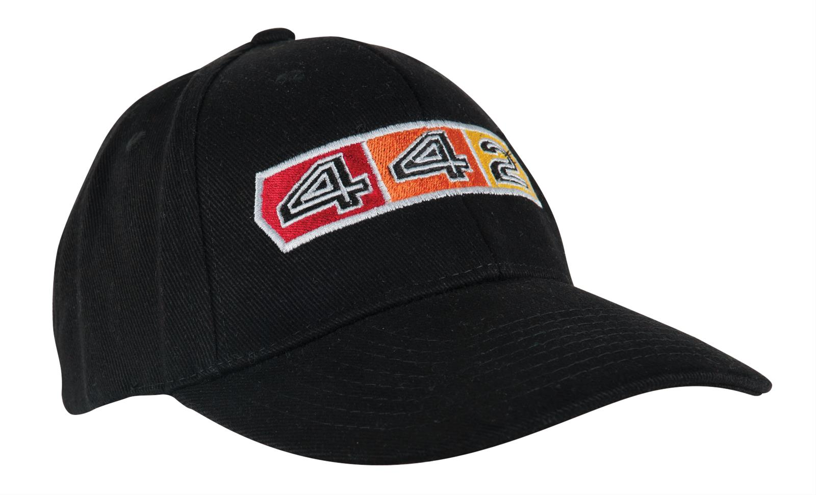 Oldsmobile Classic 442 Logo Black Baseball Cap