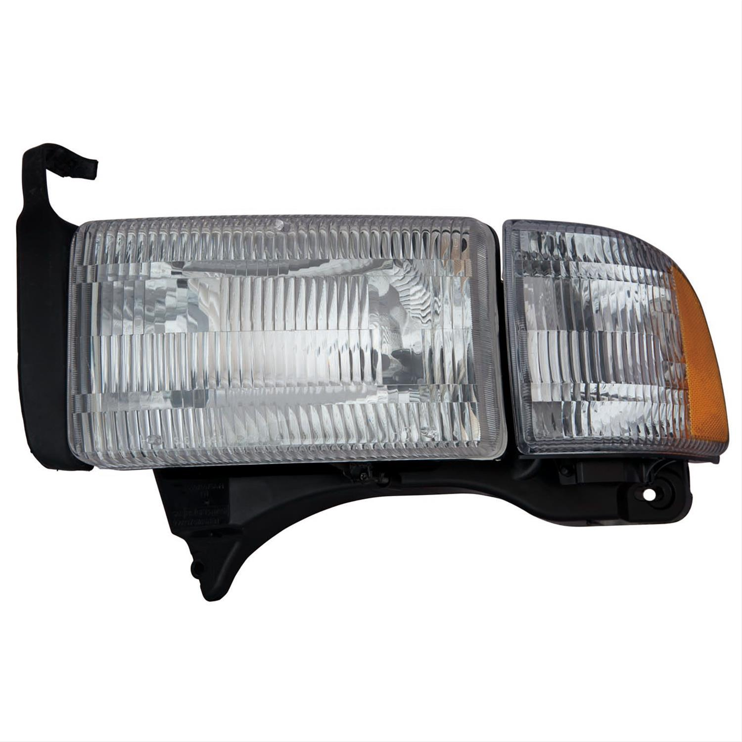 2002 Dodge Ram 2500 Body Parts Headlight Emblies Ch2502101c Free Shipping On Orders Over 99 At Summit Racing