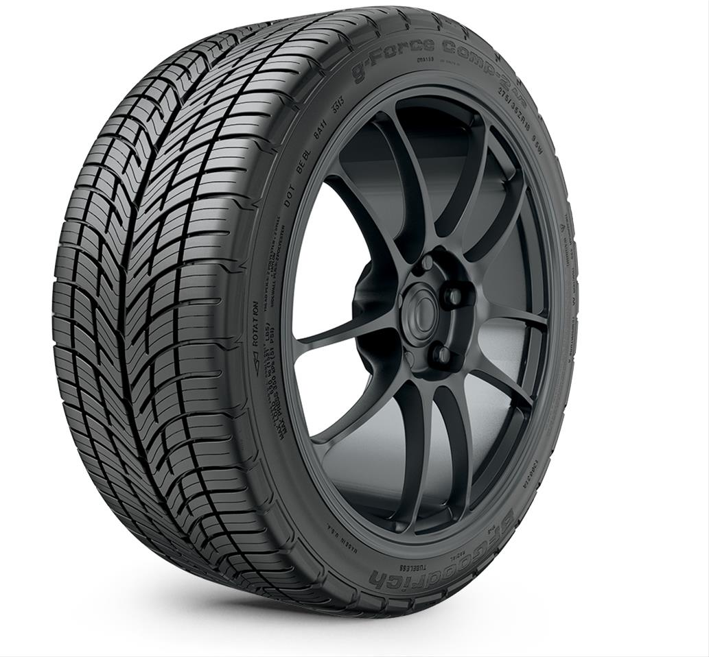 bfgoodrich g force comp 2 a s tires 20717 free shipping on orders over 99 at summit racing. Black Bedroom Furniture Sets. Home Design Ideas