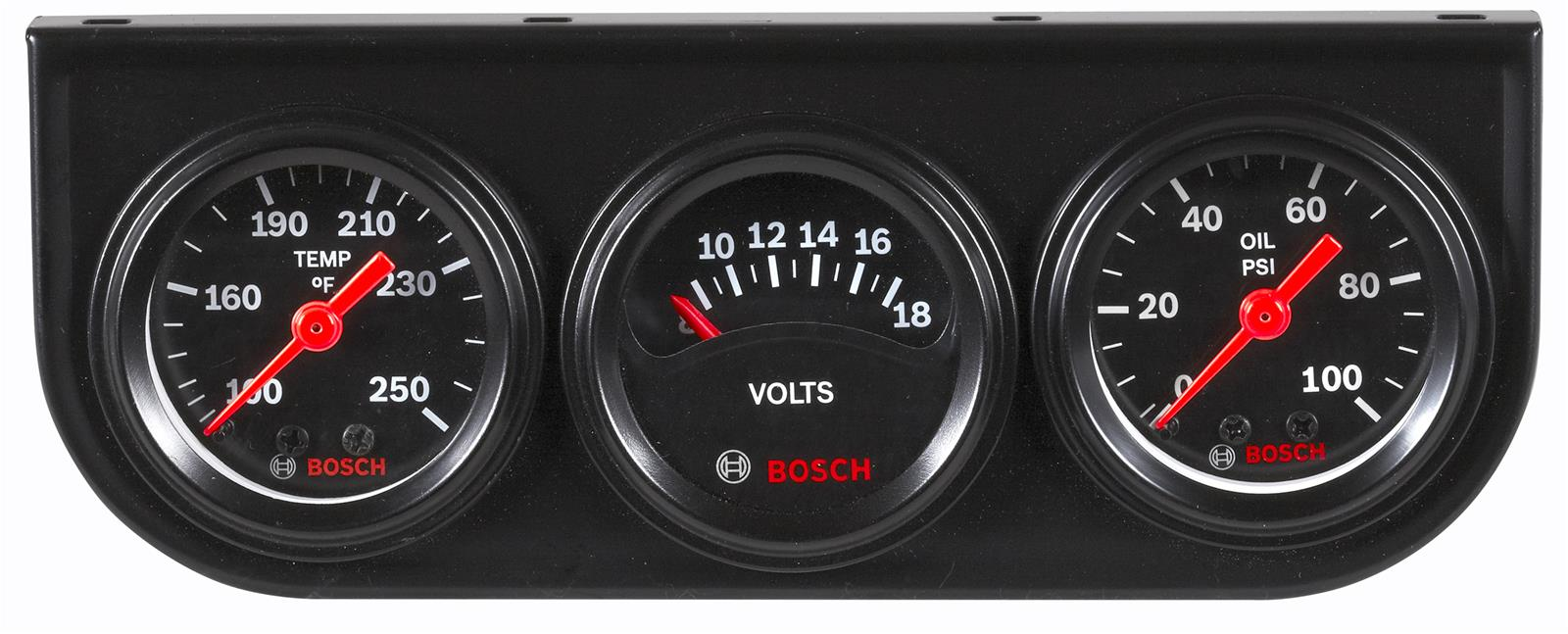 Bosch Style Line Gauge Kits Fst 8090 Free Shipping On Orders Over Tachometer Wiring 99 At Summit Racing