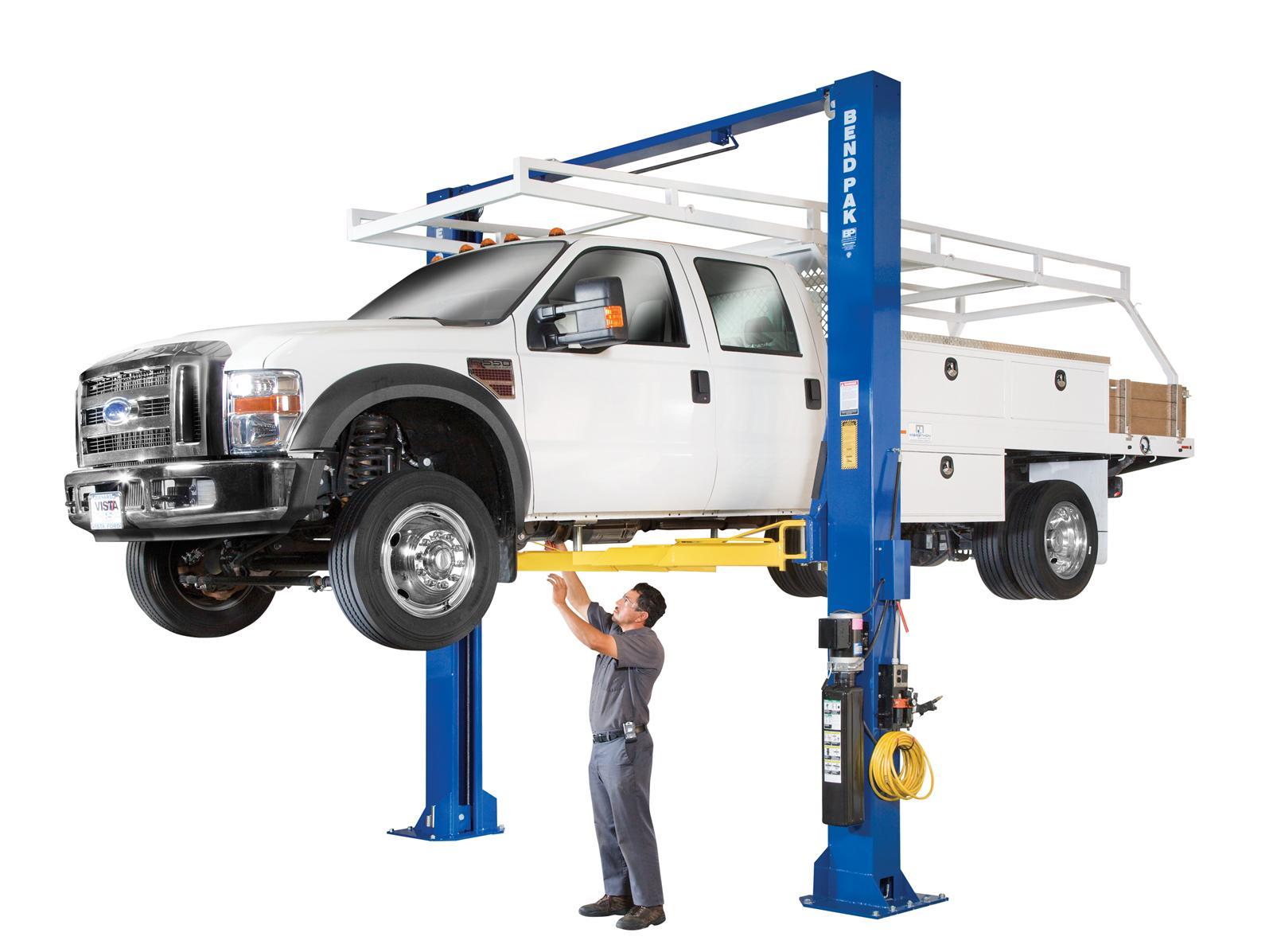 Automotive Lift Accessories : Bendpak xpr c clear floor standard arm post lifts