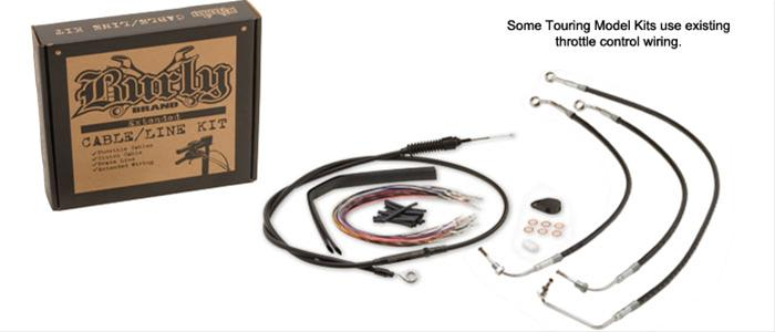 Burly Brand Cable/Line Install Kits B30-1070