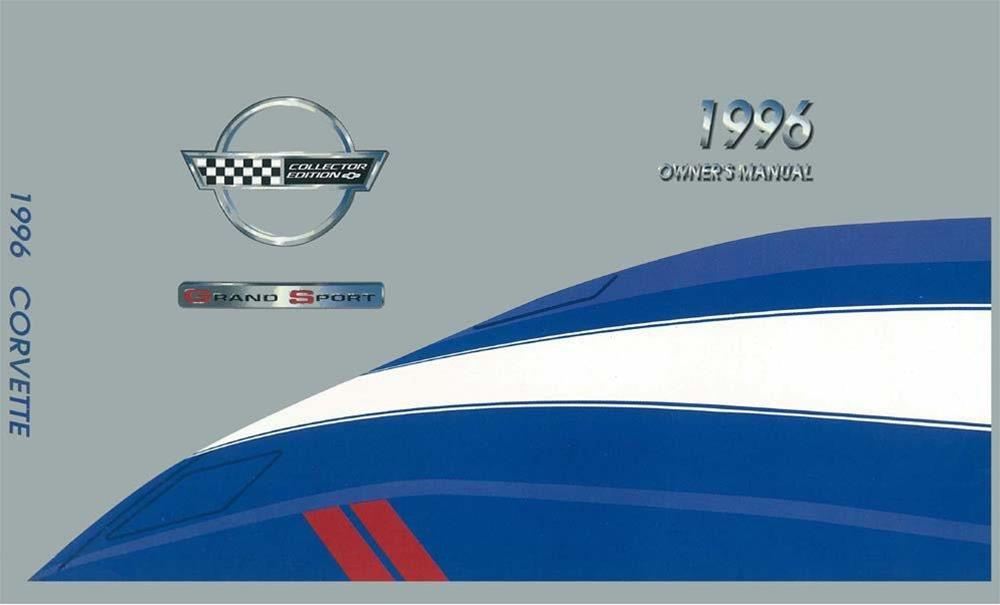 Bishko OEM Maintenance Owner/'s Manual Bound for Chevrolet Corvette 1990