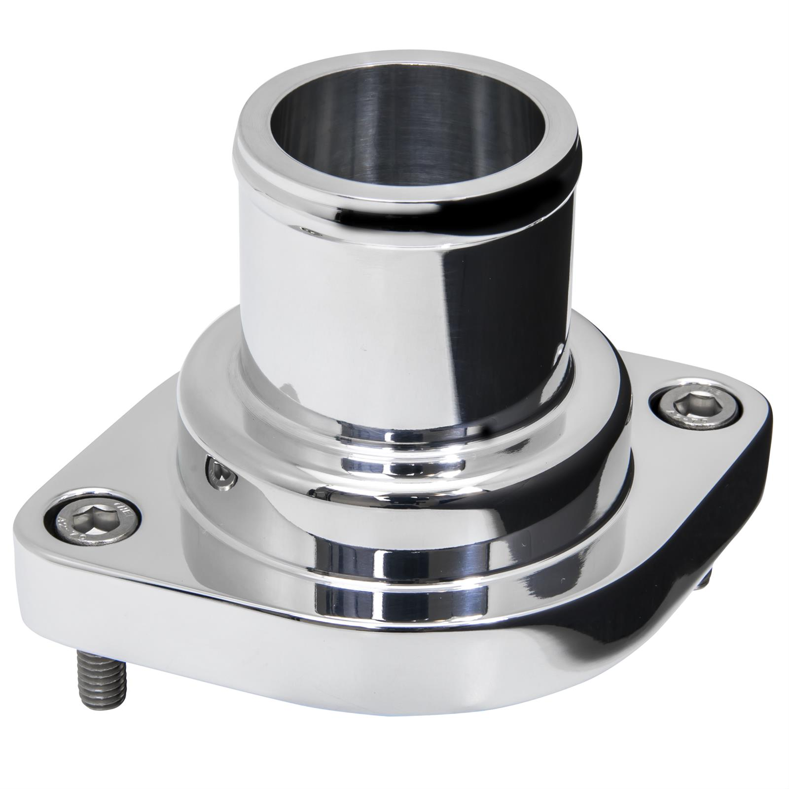 Billet Specialties 90120 Polished Thermostat Housing Straight Up