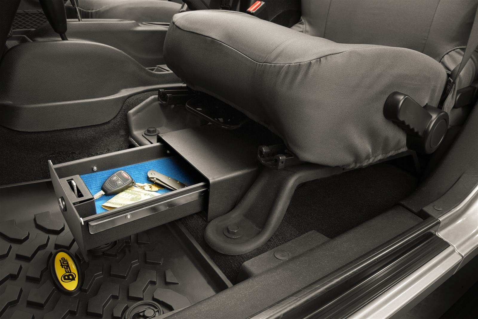 Bestop Underseat Locking Storage Boxes 42640 01 Free