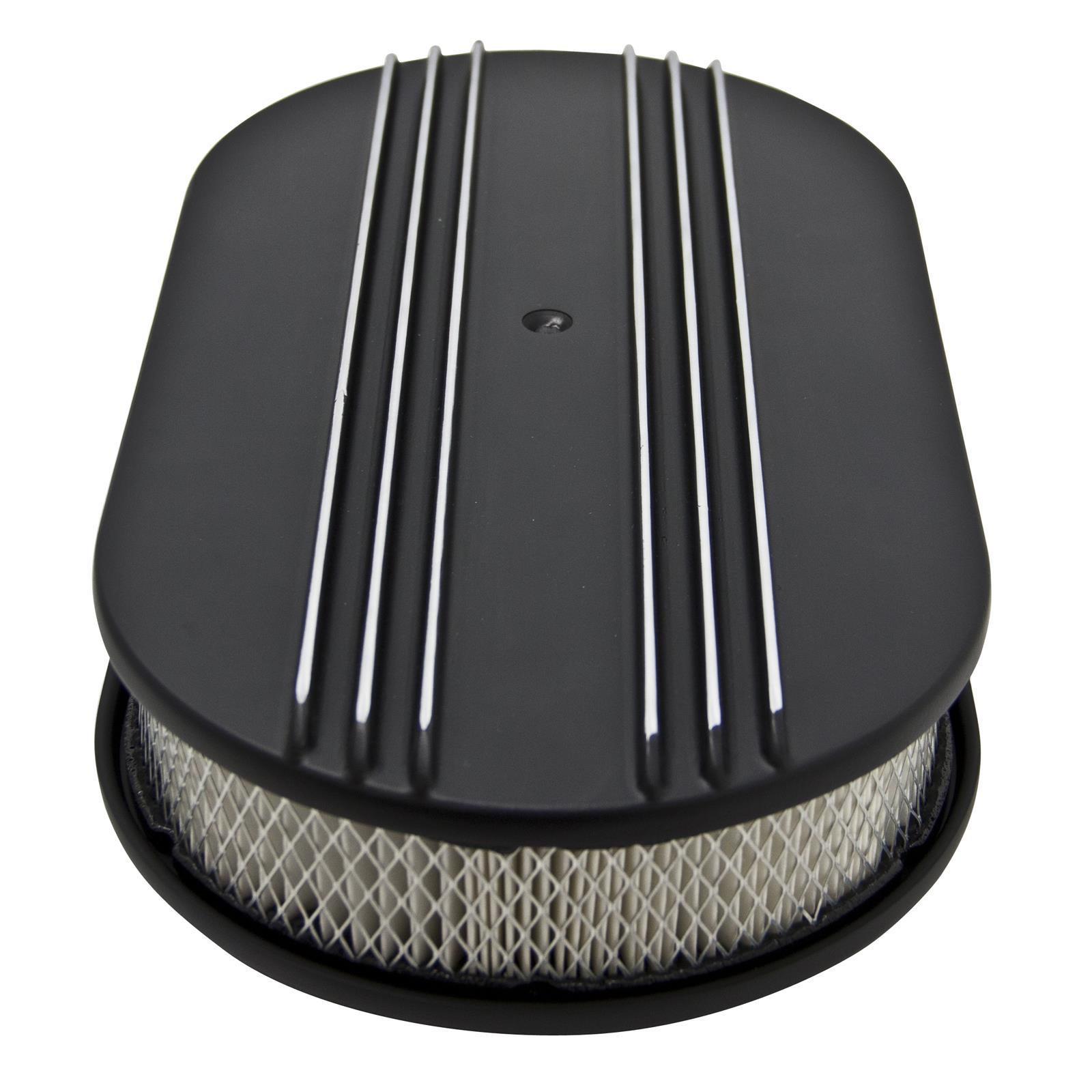 Cal Custom Air Cleaner : Cal custom™ finned aluminum air cleaner b