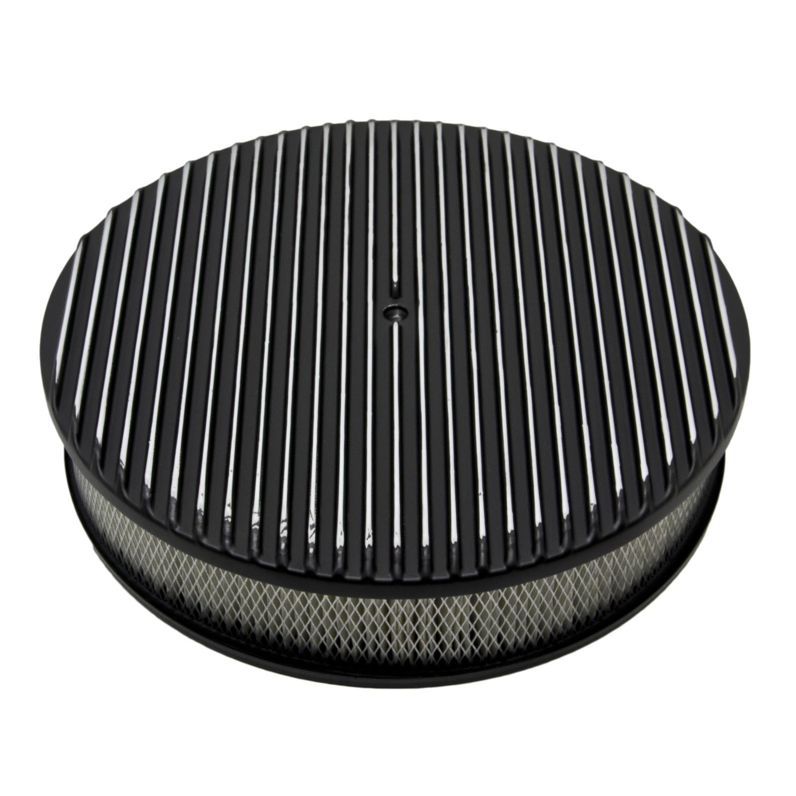Cal Custom Air Cleaner : Cal custom™ finned aluminum air cleaner b ebay