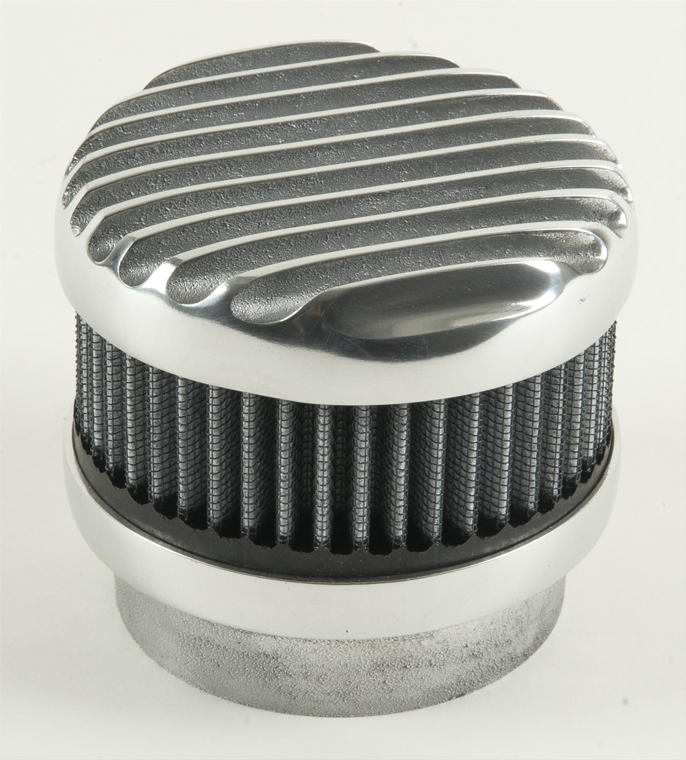 Finned Air Cleaner : Cal custom finned aluminum air cleaner o ebay