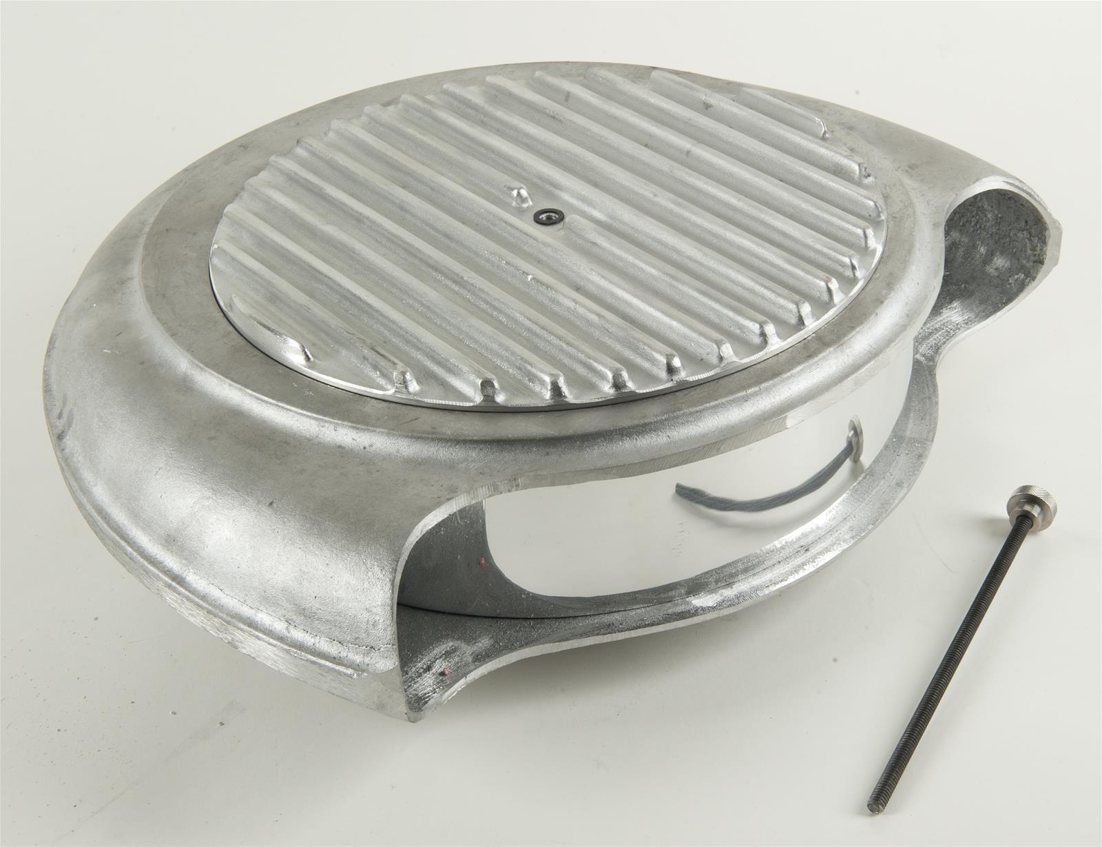 Cal Custom Air Cleaner : Cal custom« batwing air cleaner o ebay