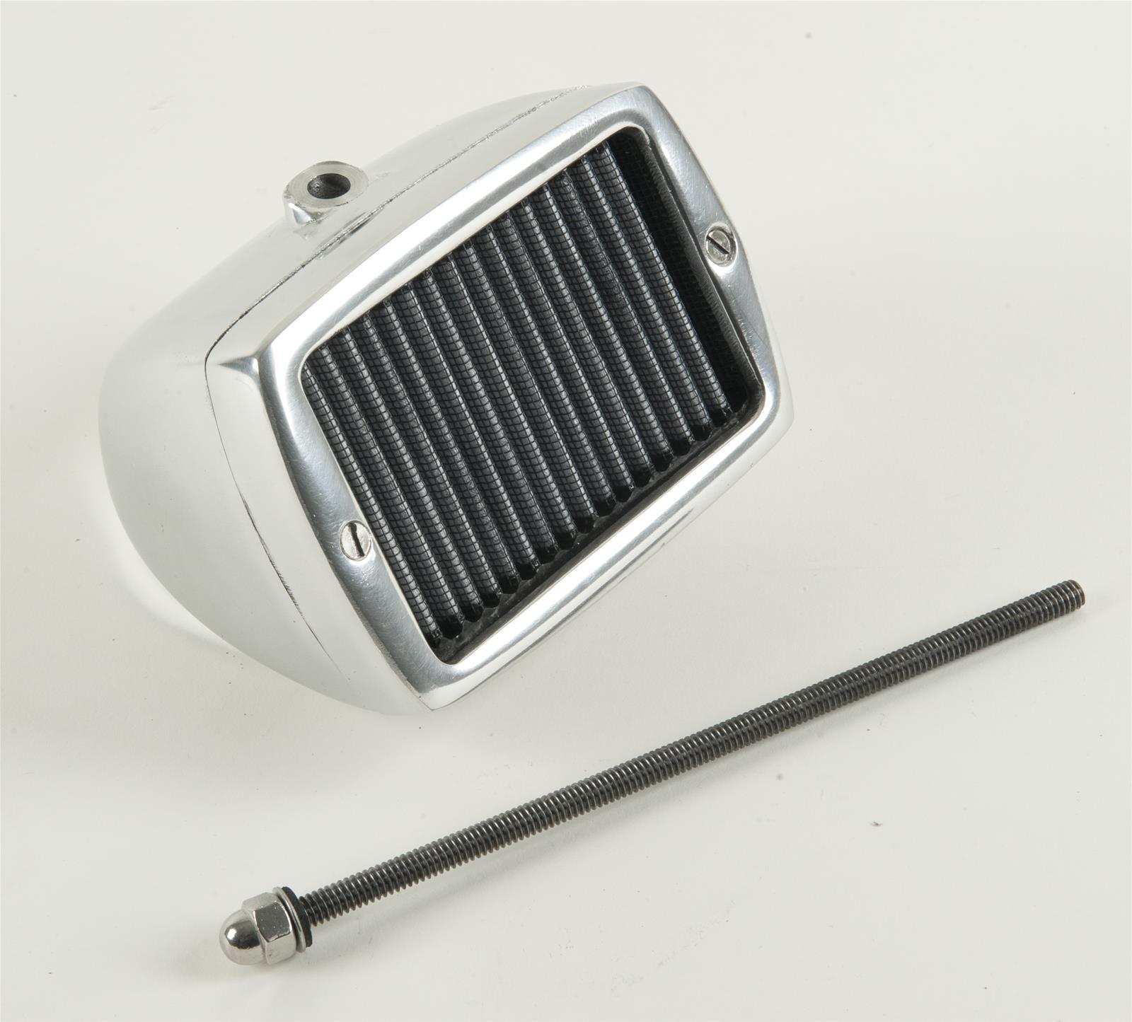 Cal Custom Air Cleaner : Cal custom« spark arrestor style air cleaner o ebay