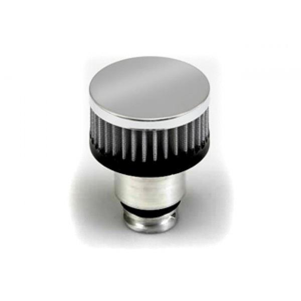 Push In Aluminum Valve Cover Breather Cap /& Gromment w//Pcv Valve /& Vent Tube to