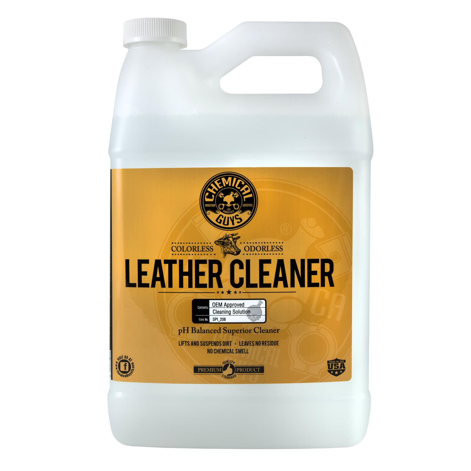 Chemical Guys Leather Cleaner Spi 208