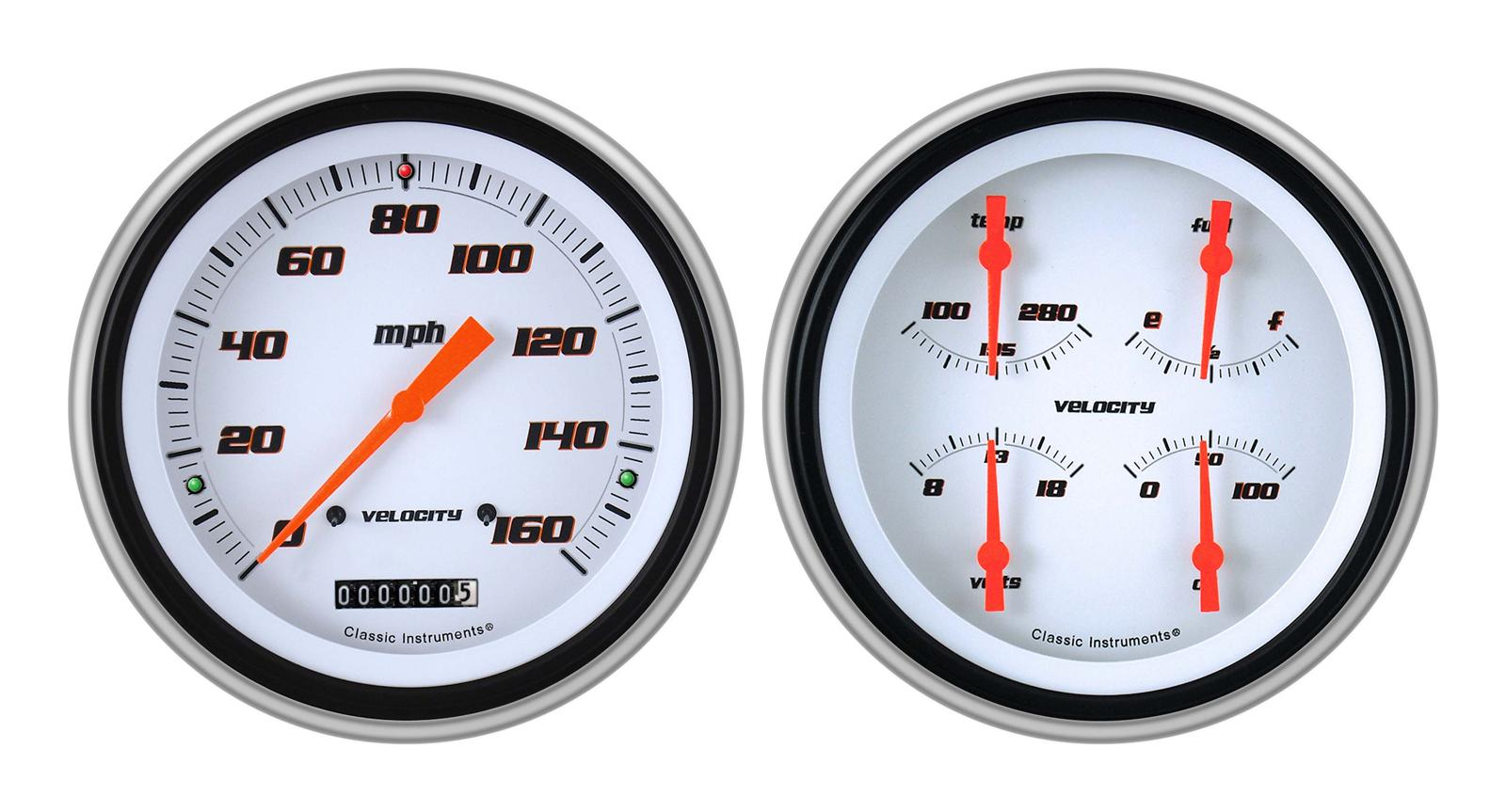 1951 chevrolet styleline deluxe classic instruments 1951-53 chevy package  gauge sets ch51vsw52 - free shipping on orders over $99 at summit racing