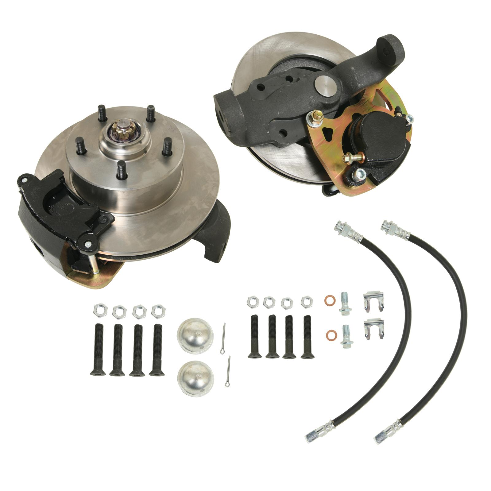 1968 CHEVROLET CAPRICE Classic Performance Drop Spindle Brake Kits  5870SWBK-D