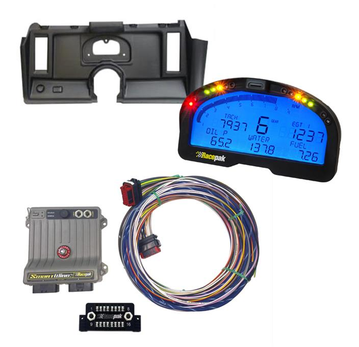 Summit Racing® Data Acquisition Kit and Dash Panel Pro Packs 07-0004