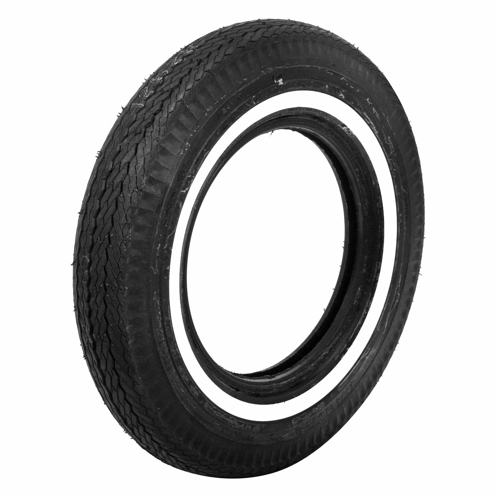 Coker Firestone Vintage Bias Tire 5 60 15 Bias ply Whitewall