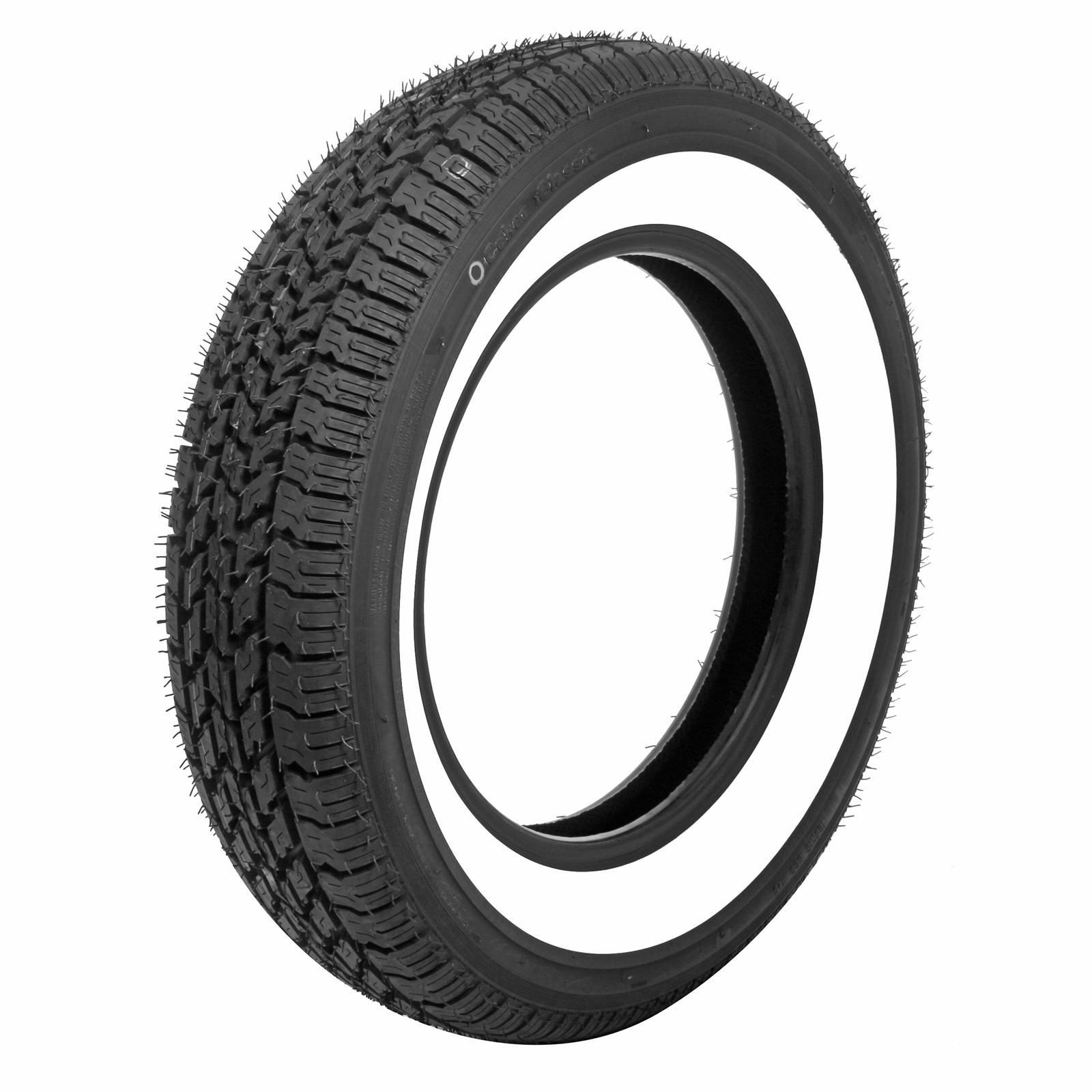 Coker 2 1/4in Whitewall Nostalgia Radial Tire 165-15 ...