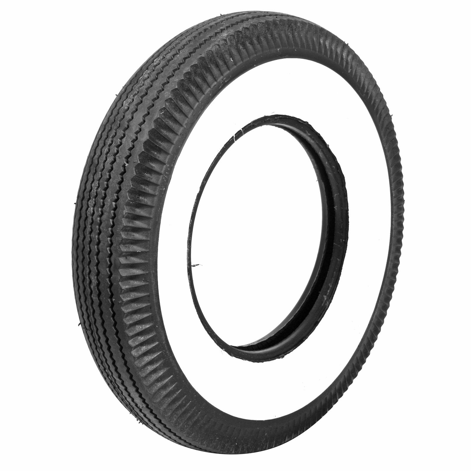 Coker Firestone Vintage 3 1/4 in Whitewall Tire 6.70-15 ...