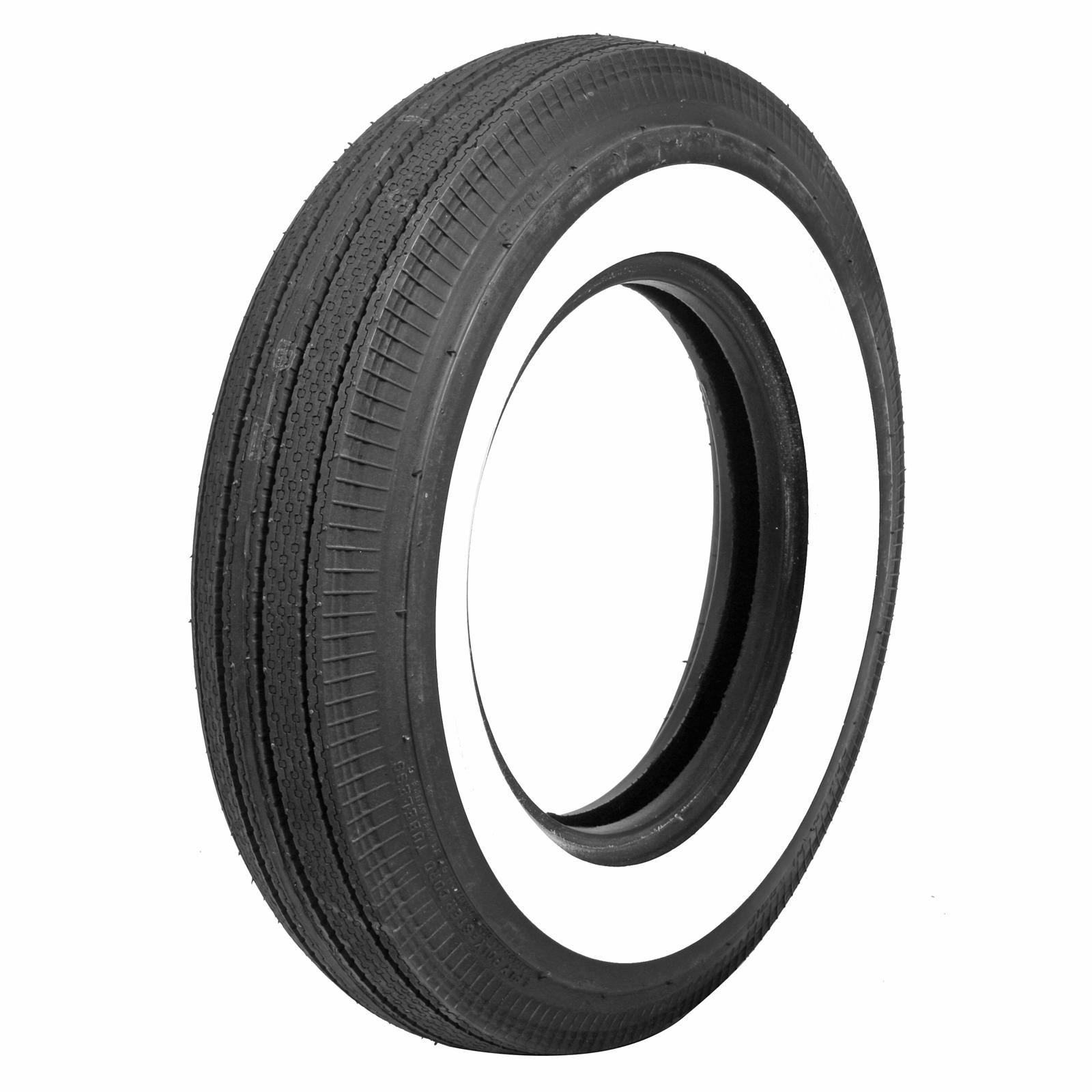 Bias Ply Tires >> Details About Coker Classic Bias Ply Tire 6 70 15 Bias Ply 2 750 In Whitewall 57700 Each