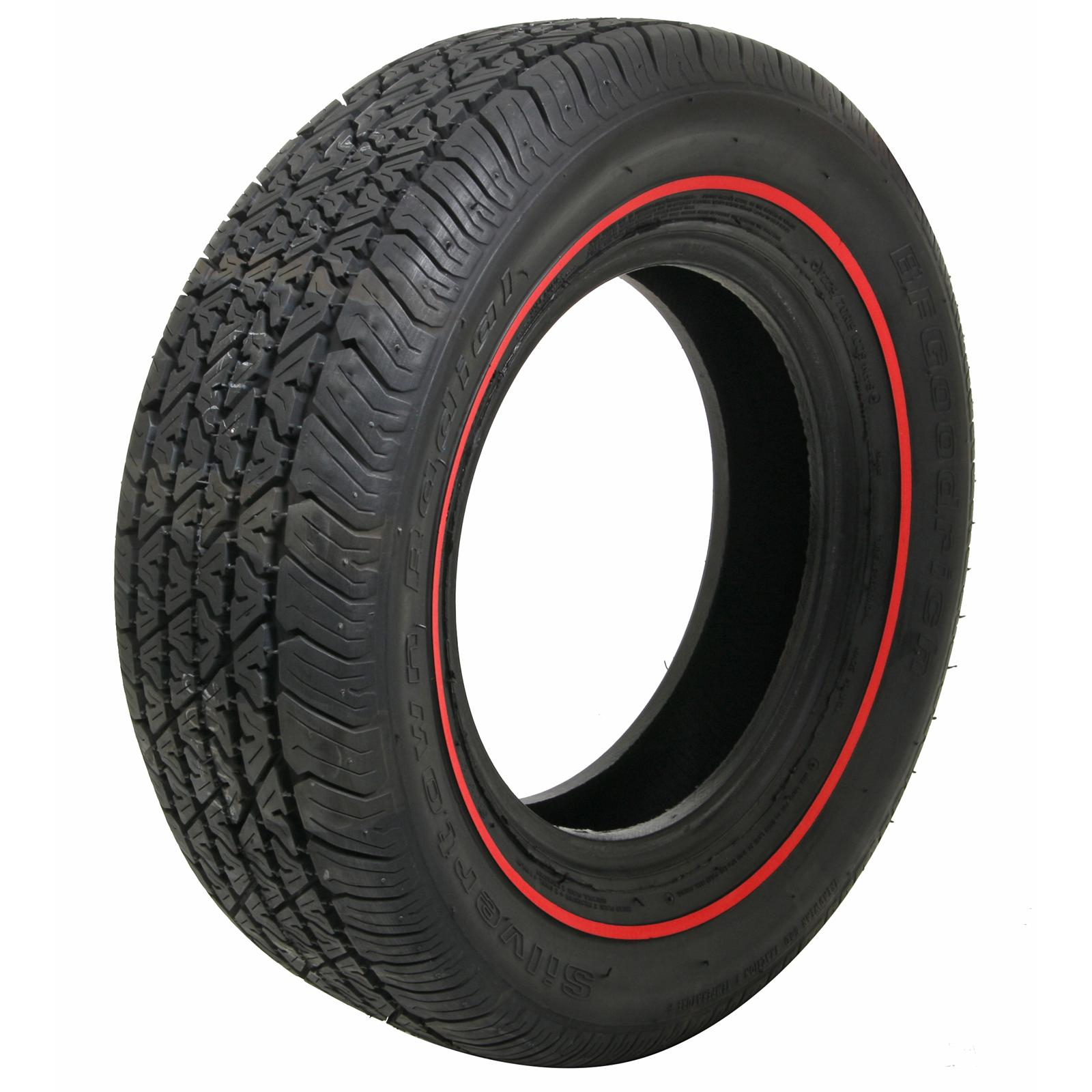 Red Line Tires >> Coker Bfgoodrich Silvertown Radial Tires 579786 Free Shipping On