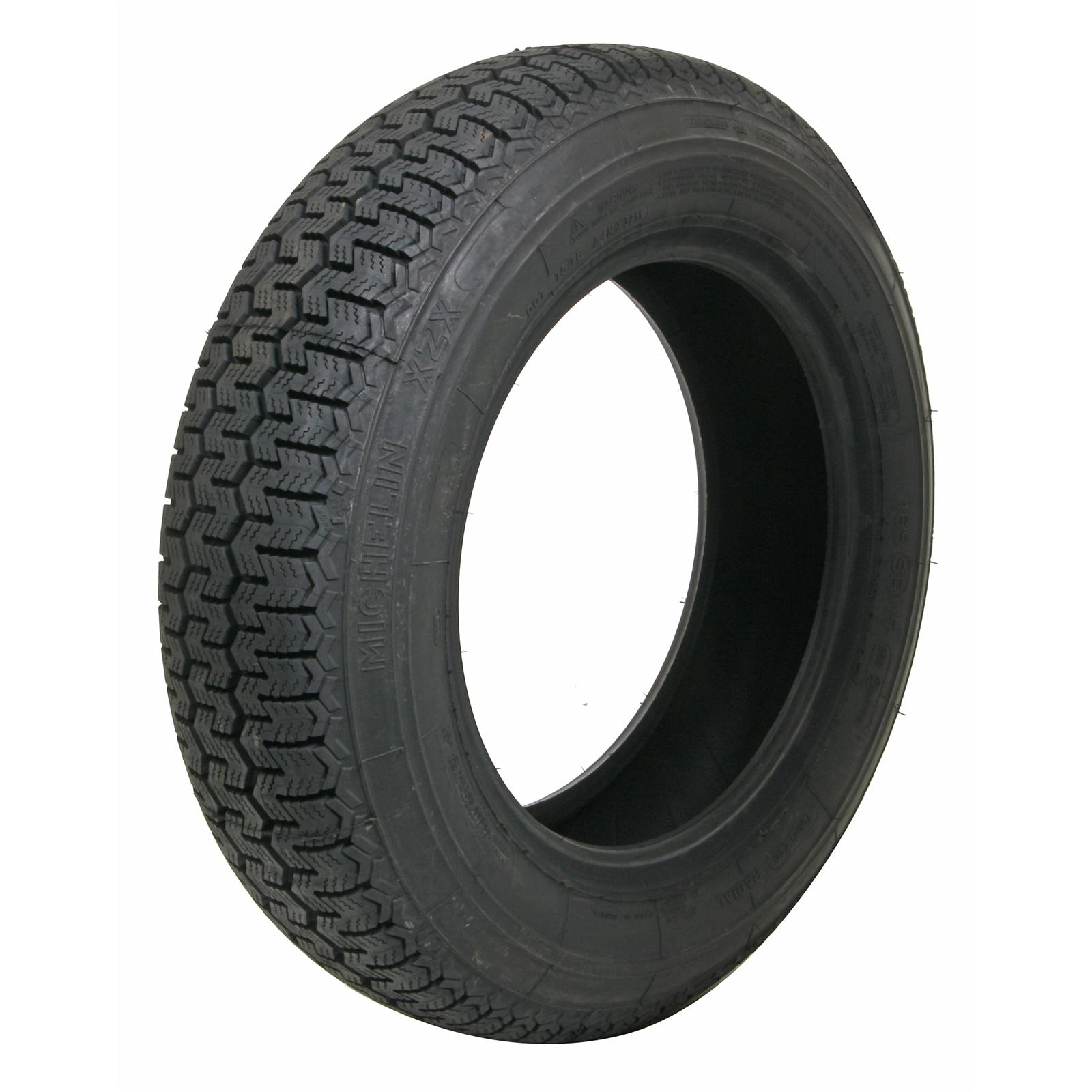 coker michelin radial tire blackwall set of 2