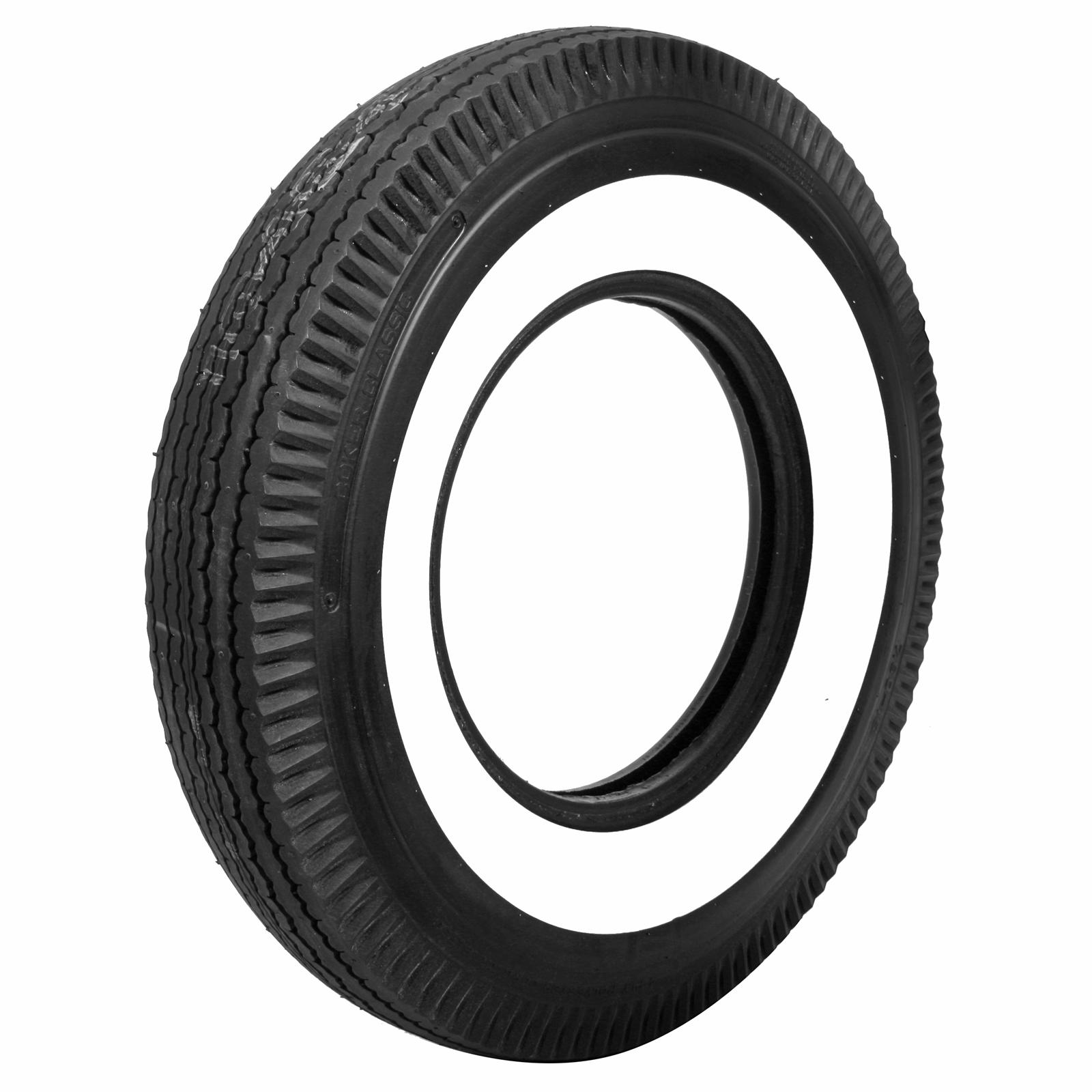 Coker classic bias ply tire bias ply whitewall for 59600