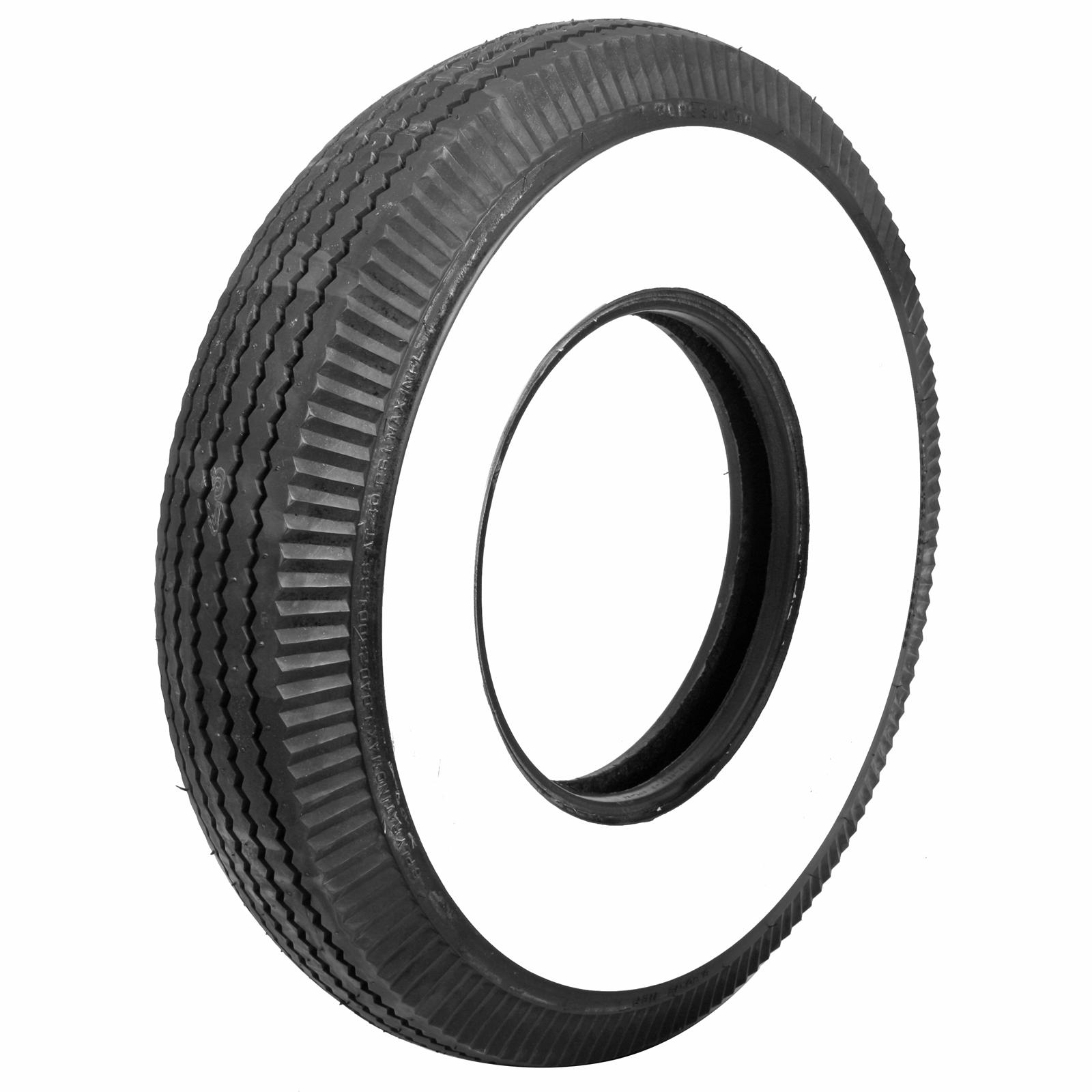 Sell Coker Firestone Vintage Bias Tire 8 90 15 Whitewall Bias Ply