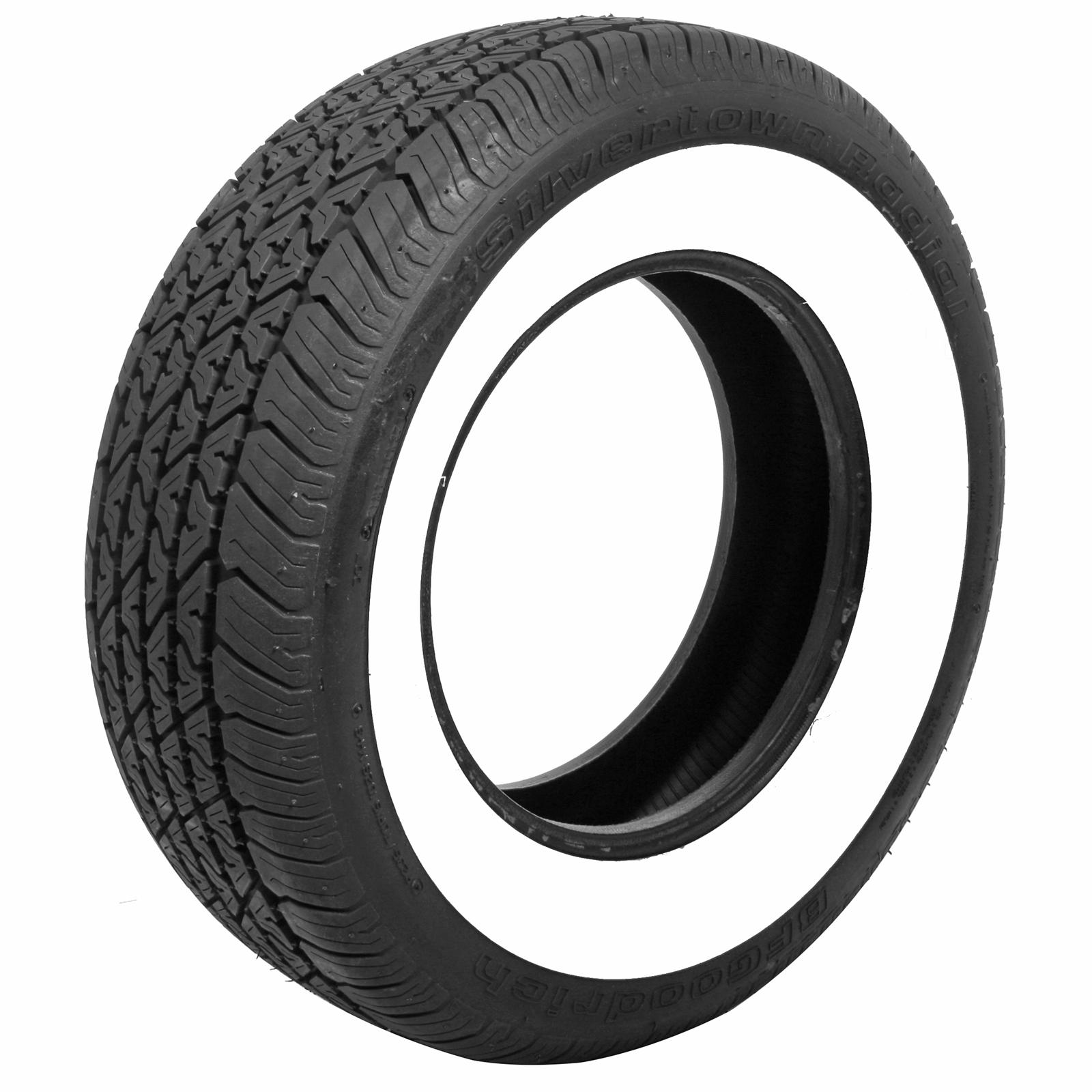 (4) Coker BFGoodrich 2.750in. Whitewall Silvertown Radial ...
