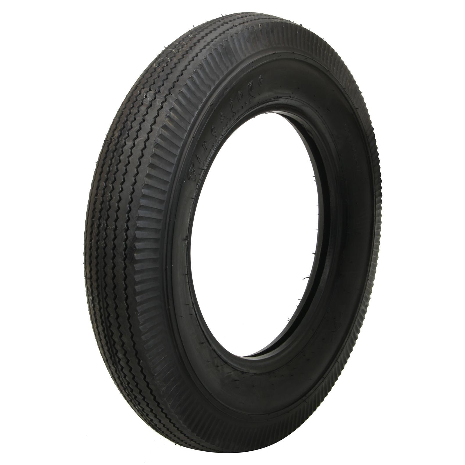 Coker Firestone Vintage Bias Tire 5 25 5 50 17 Bias ply Each