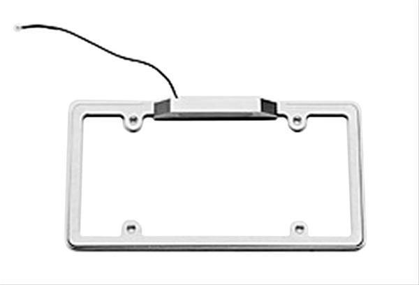 Billet Specialties 55220 Plain Lighted License Frame