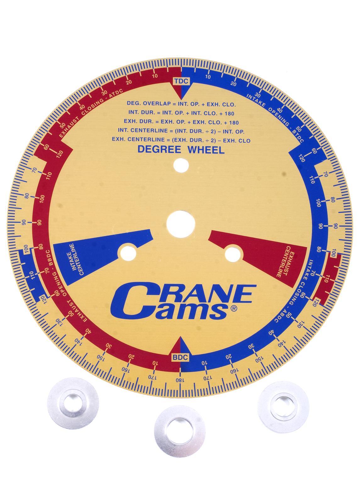 Crane Cam Degree Wheels 99162-1