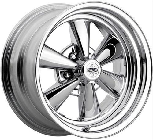Cragar 61c Series Ss Super Sport 6 Spoke Chrome Wheels 61c776340