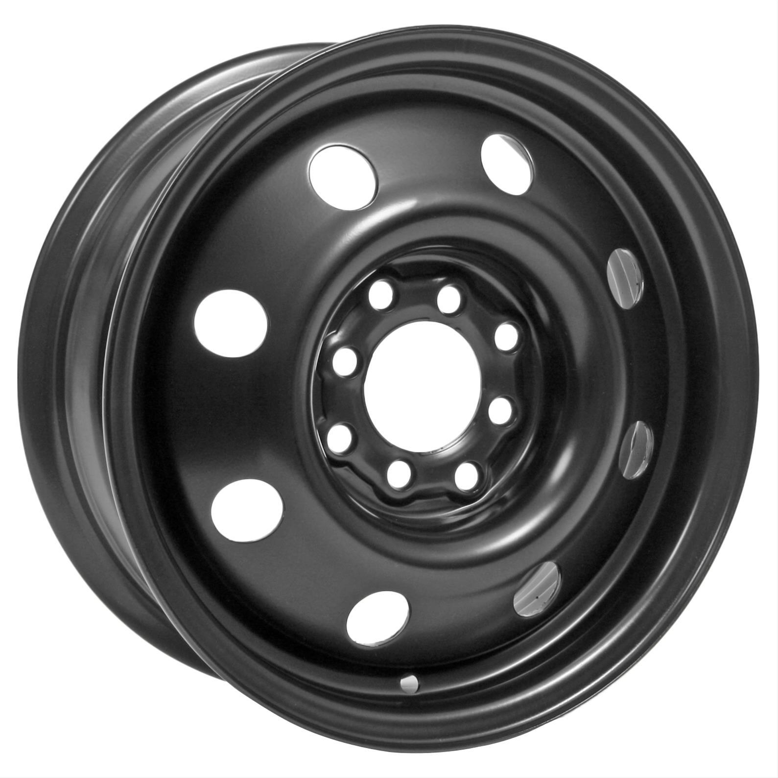 "Unique Series 83 Black Steel Wheels 14""x5.5"" 4x100mm BC ..."