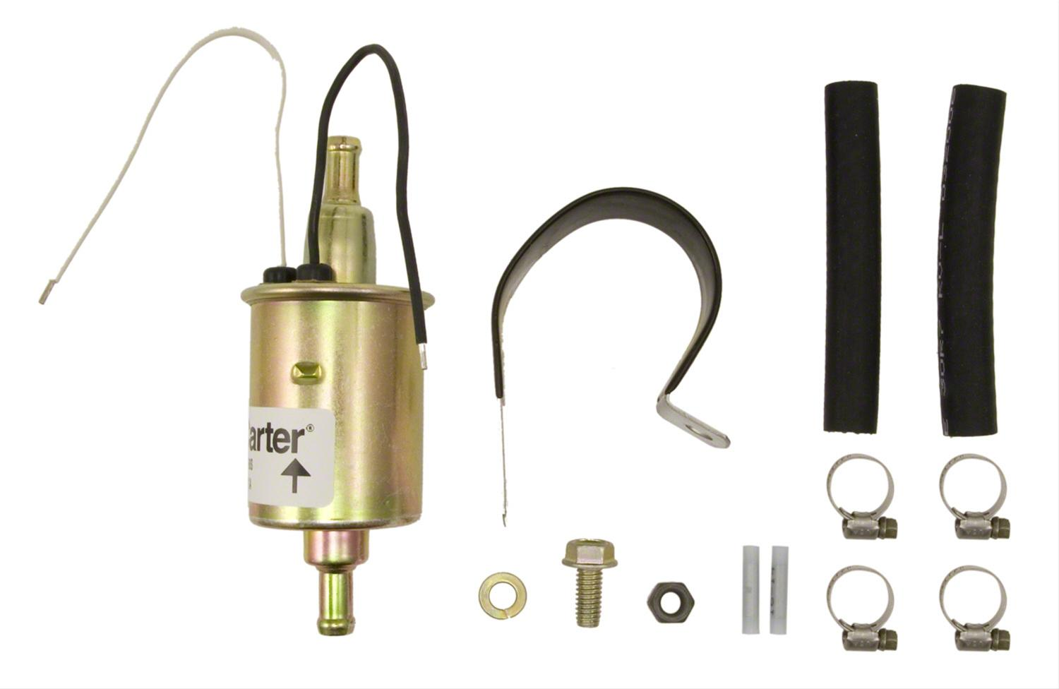 Carter Inline Electric Fuel Pumps P74029 Free Shipping On Orders Over 99 At Summit Racing