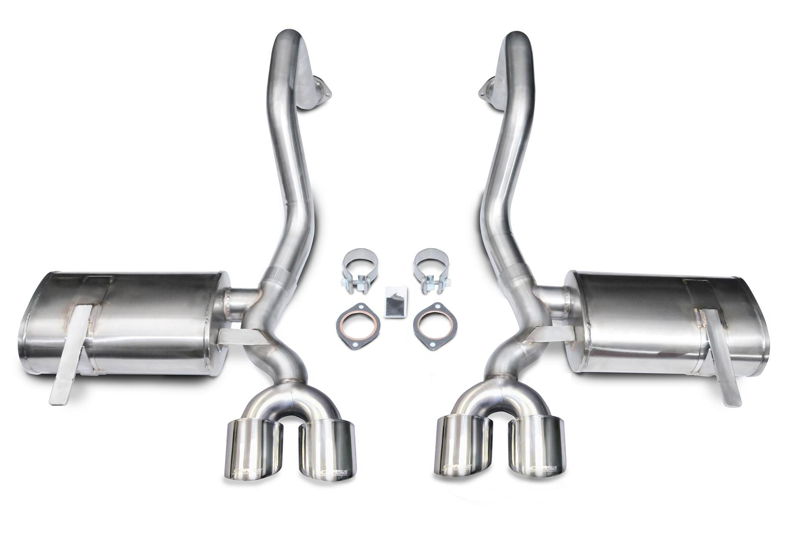 CHEVROLET CORVETTE Corsa Xtreme Exhaust Systems 14961