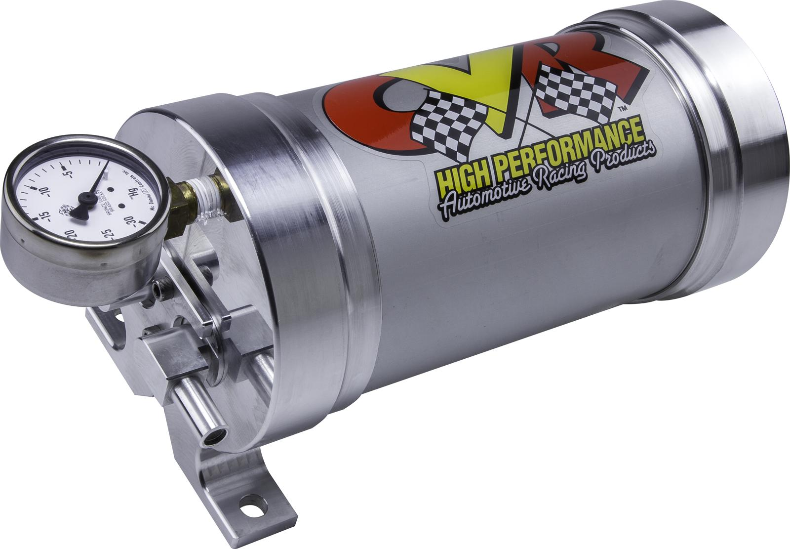 Performance Exhaust Systems >> CVR VACUUM CANISTER W/ Gauge