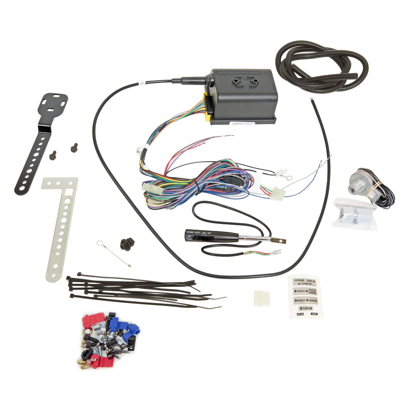 Dakota Digital Cruise Control Kits For Cable Driven Speedometers Crs Wire Harness Resume 2000 3 Free Shipping On Orders Over 99 At Summit Racing