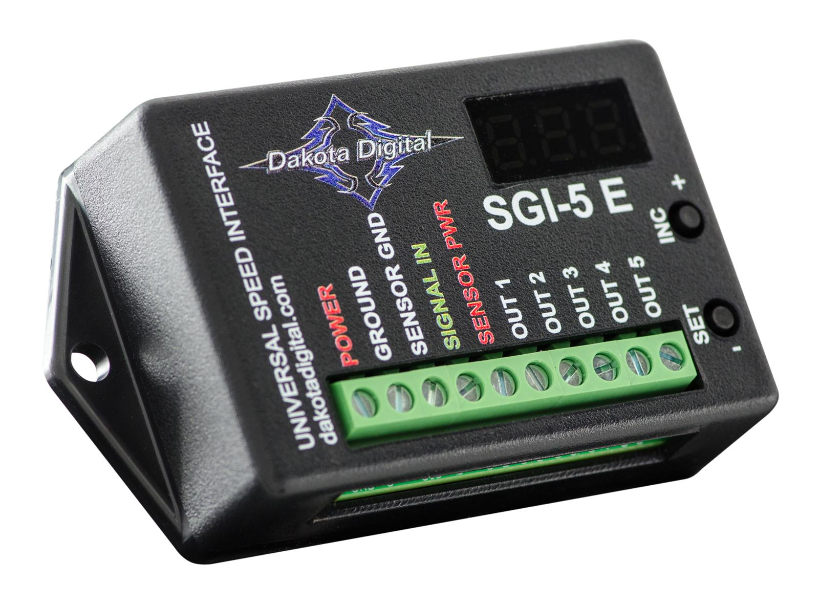 dakota digital sgi-5e universal speedometer signal interfaces sgi-5e - free  shipping on orders over $99 at summit racing